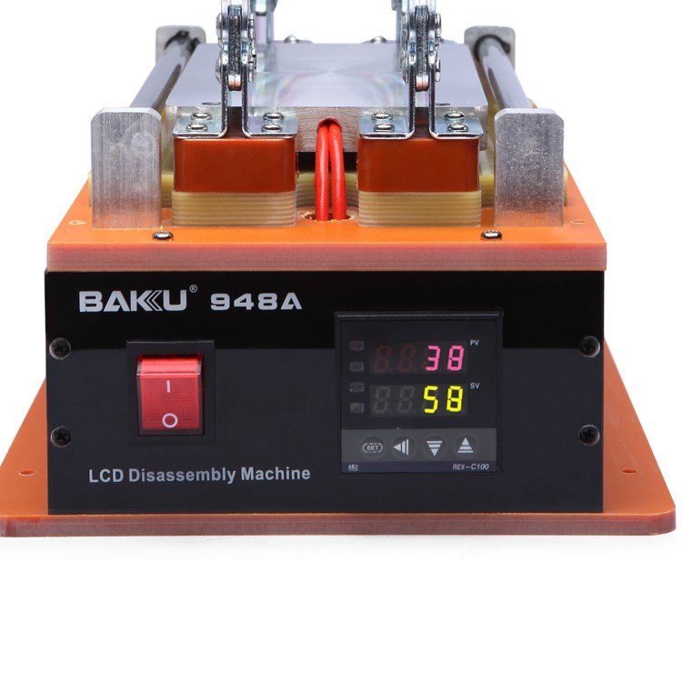 BAKU BK 948A the newest digital lcd touch screen glass separator repair machine for mobile phone