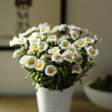 high quality simulation flower PE small daisy plastic decorative flowers