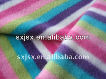 100%polyester printed polar fleece for garments and hometextile ect.