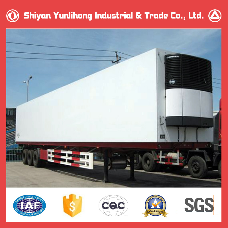 Freezer Trailer Truck/Refrigerated Cargo Trailer Lorry/40FT Container Trailer Price