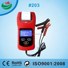 Car Battery Tester with LCD and Inner Printer