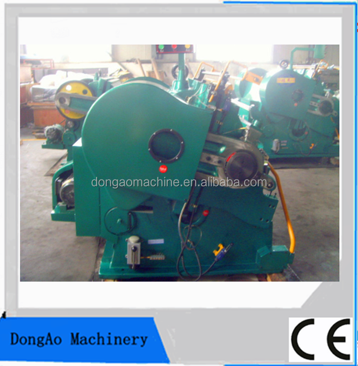 Green color creasing machine and die cutting machine/can add the stamping part