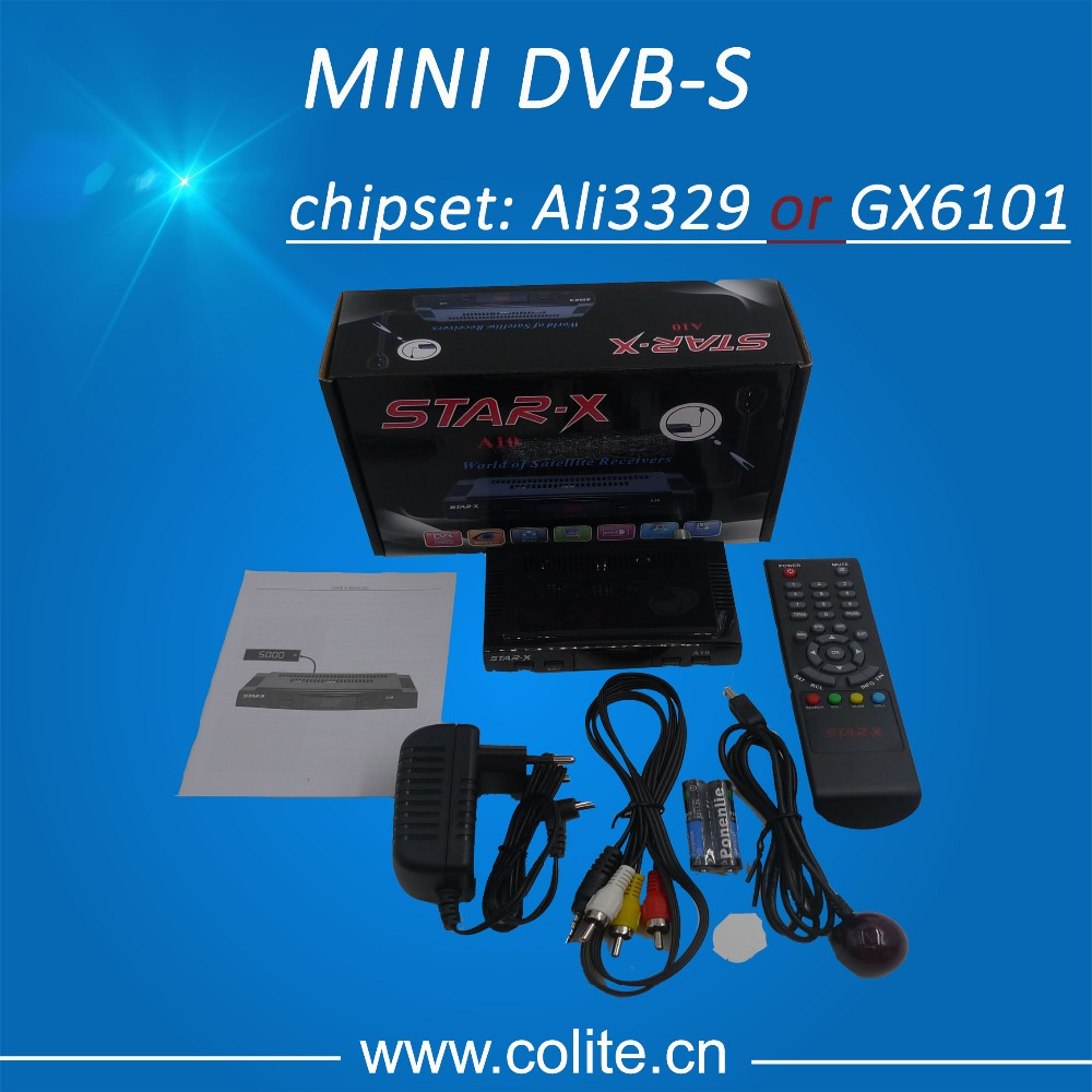 Star X Receiver Mini DVB-S Mini SD Satellite receiver for Yemen, etc