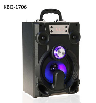 2018 new product Karaoke home speaker with 3000mah battery subwoofer karaoke bluetooth speaker