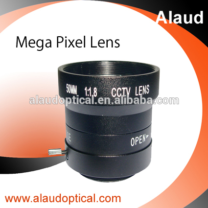 50mm F1.8 manual iris C mount lens for infrared viewer