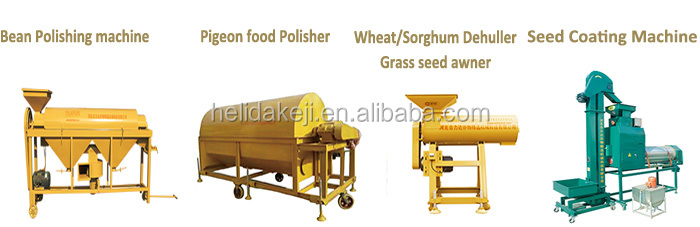 Paddy Wheat Beans Mobile Grain Seed Cleaner Grader For