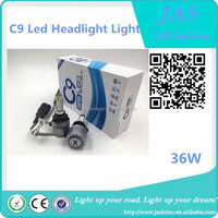 Top quality and good selling 36W DC 9V-36V IP68 3600LM H4 H13 9004 9007 for All car led headlight