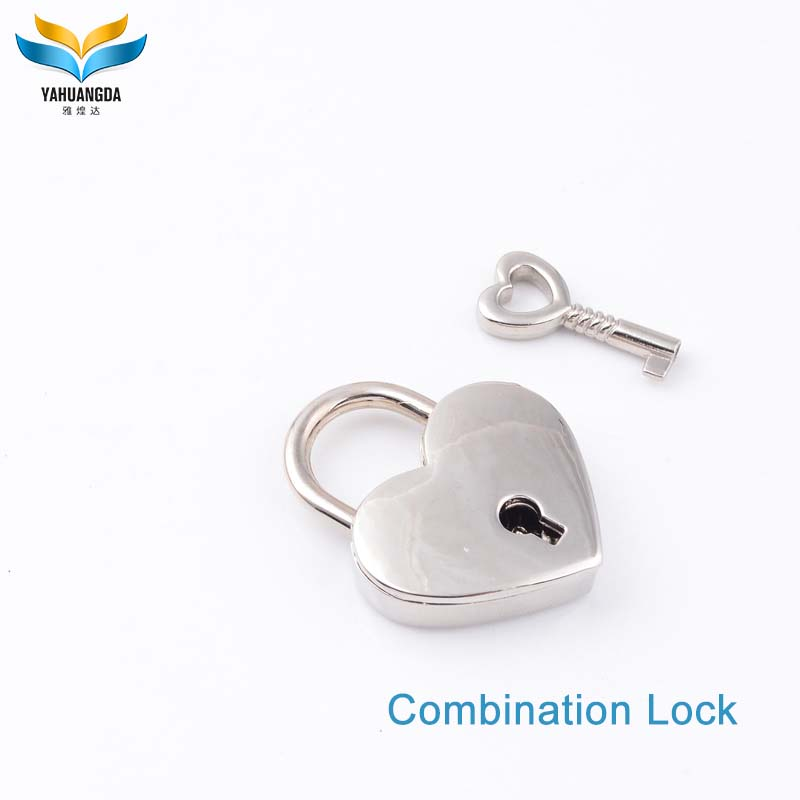 wholesale decorative small heart shaped padlocks,padlock bag lock