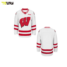 cheap team ice hockey jersey sublimated