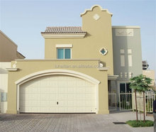 High quality residential exterior stainless steel security garage door