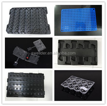 wholesale custom vacuum forming hard plastic PCB ESD packing tray