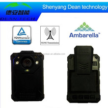 Police Body Worn Video Camera and Recorder with GPS Tracking