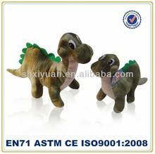 Cuddly wholesale plush animals cartoon dinosaur toy for kids