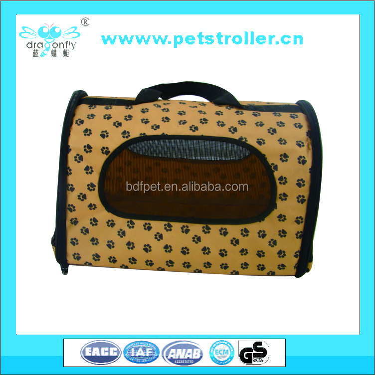wholesale Soft-Sided Cat Dog Comfort AirlineTravel Pet Carrier Bag
