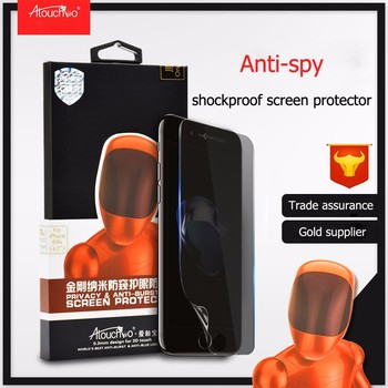 New Product Nano Anti Shock Privacy Screen Protector For Iphone7 Plus