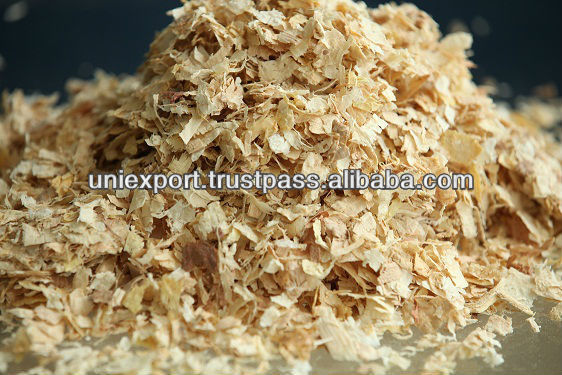 Mixed pine and rubber Shavings for animal bedding