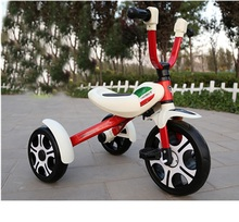 Top Sale High Quality Metal Folding Kids Trike Baby Carrier Tricycle