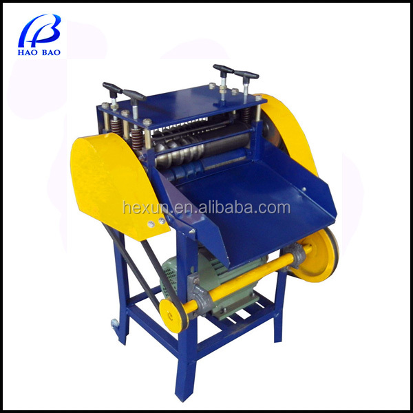 HW-KO 2014 Hot Sale New copper wire scrap wire stripper coaxial cable stripping machine for sale in cable making equipment