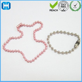 Custom Stainless Steel Dog Tag Ball Chains From China