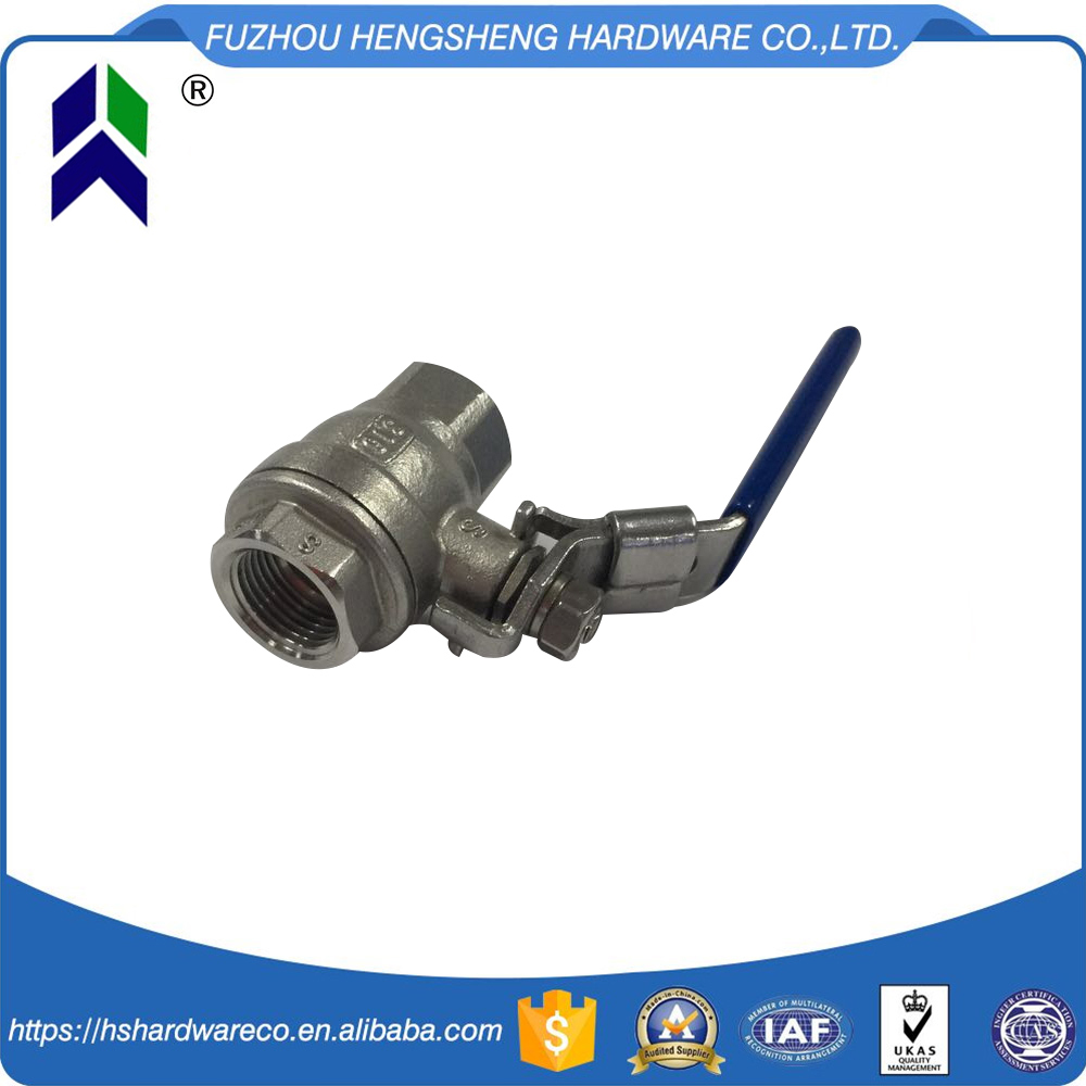 Excellent Material Threaded 3Pc Ball Valve
