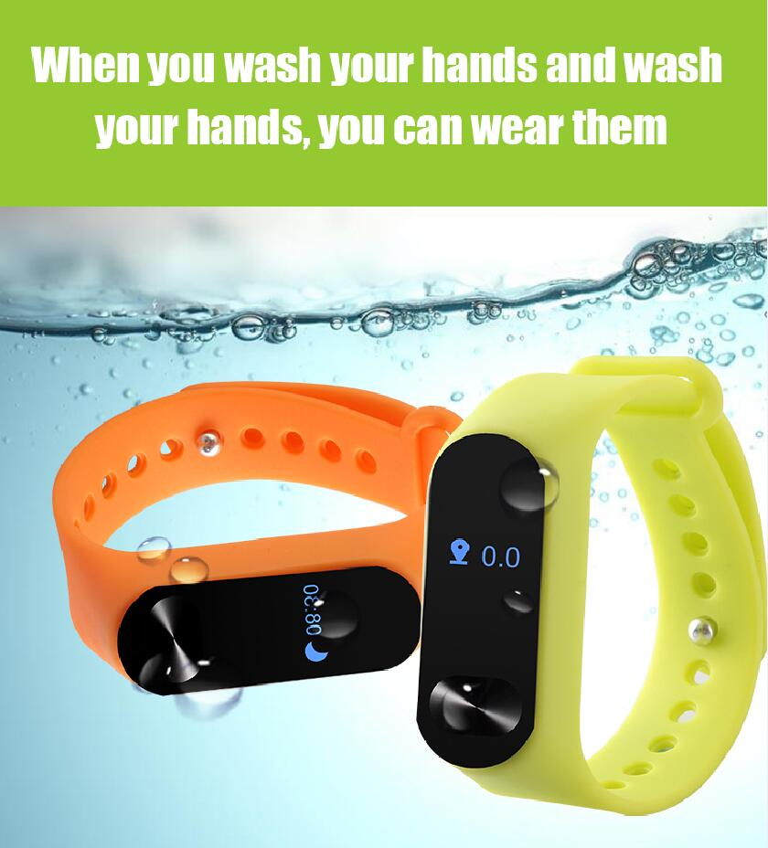 S9 Factory price fitness tracker smart bracelet heart rate monitor