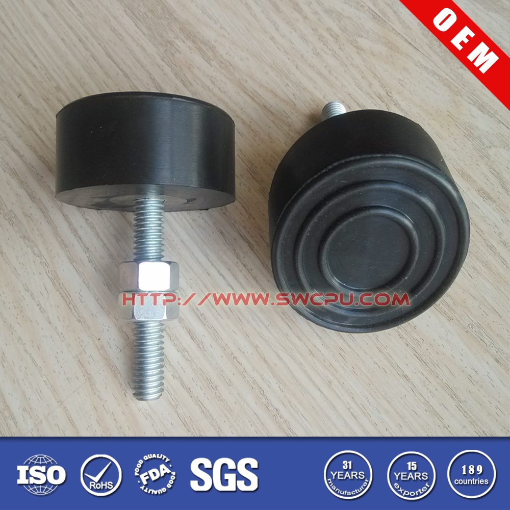 SilentBlock/Anti Vibration Rubber Feet With Bolt /Screw On Rubber Feet