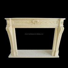 Factory price stone countertop fireplace