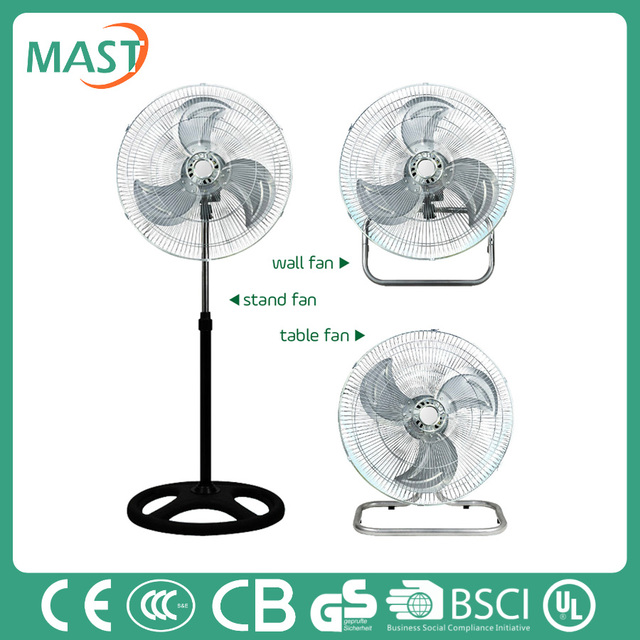 18' new 3 in 1 industrial stand fan cheap price powerful made in China