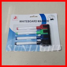 Promotion white board marker pens in blister card packing
