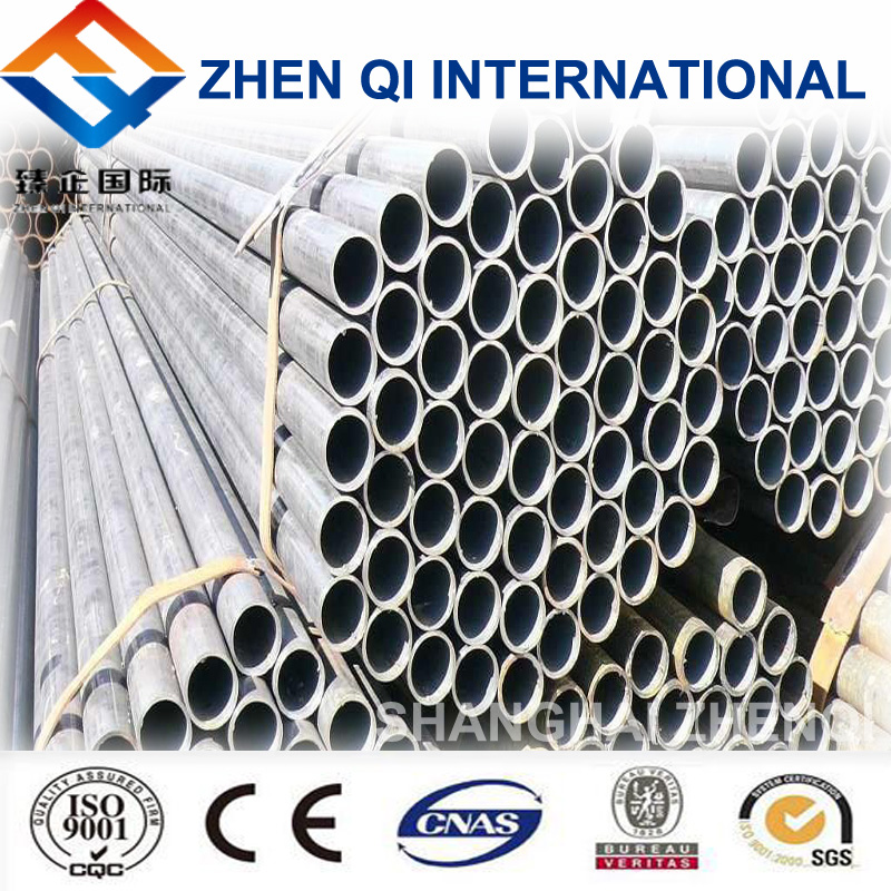 Shanghai Supply Standerd Steel Welded Pipe For Gas And Oil Line