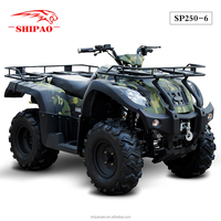 SP250-6 camouflage hunter atv's from china