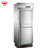 commercial stainless steel refrigerator/ kitchen refrigerator