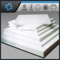 factory price white ptfe teflon board