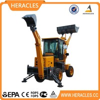mini and small cheap backhoe loader for sale