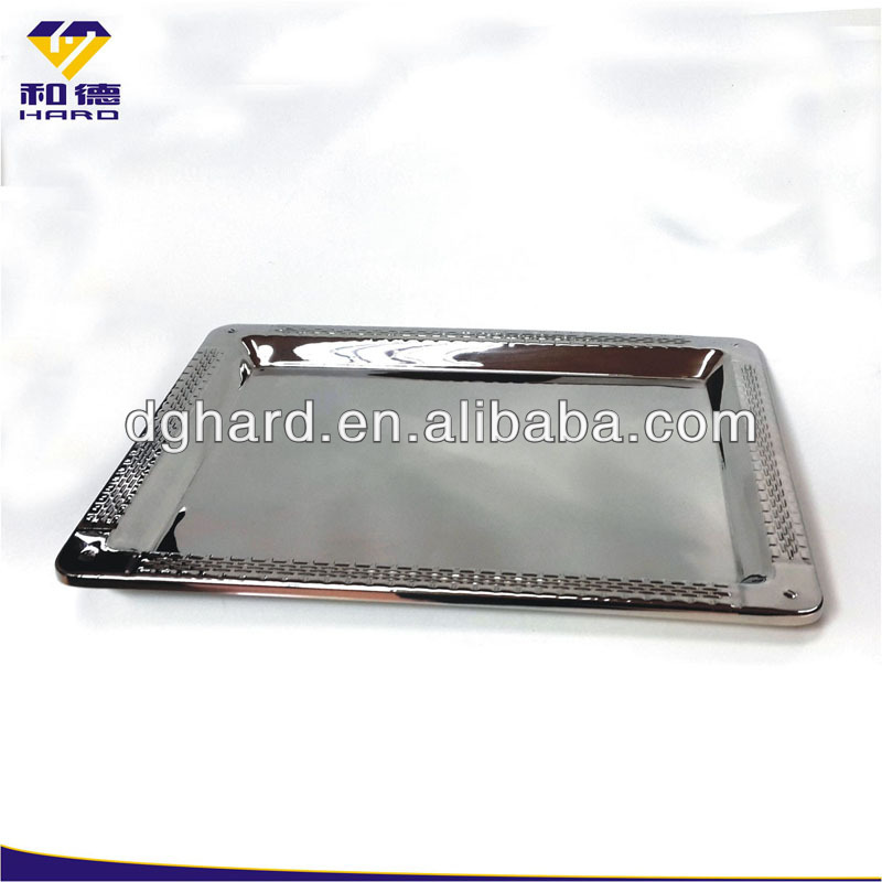 Stainless Steel Double Wall Bar Tray