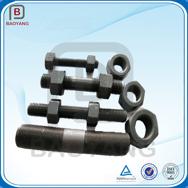 China supplier OEM 304 stainless steel double head stud bolt