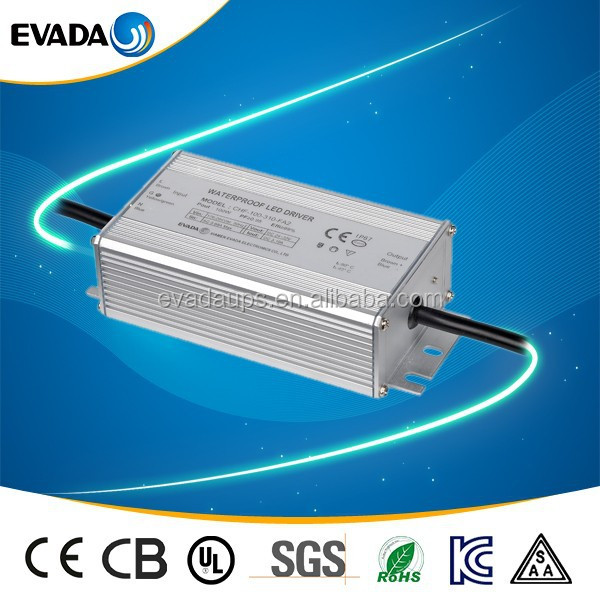 IP67 220V ac input dc constant current 3.1A power supply waterproof led driver 118w