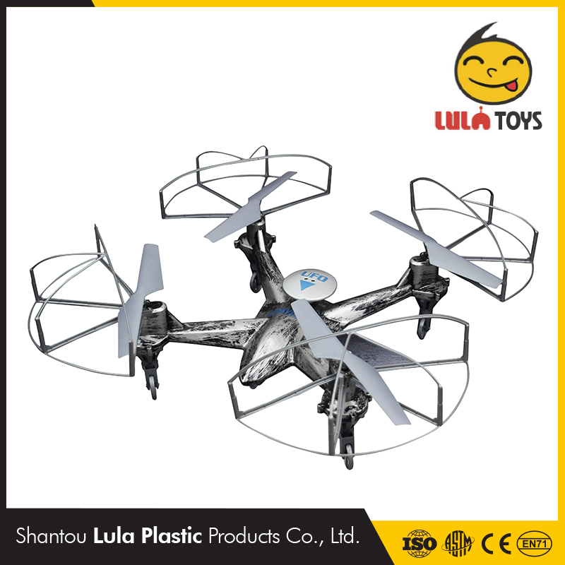 Under water drone headless mode sea land and sky aerocraft ufo drone with waterproof splash drone