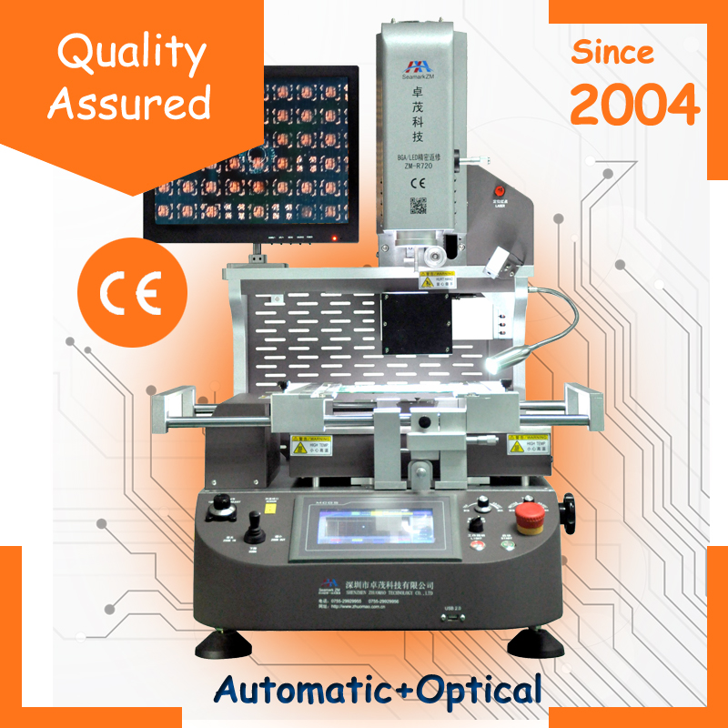Automatical BGA Chip Removal Machine Tools ZM-R720 for Motherboard Chip Removal and Soldering