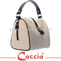Practical cosmetic bag free sample with handle