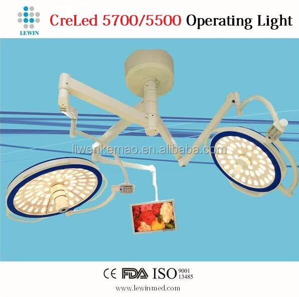 CE&ISO Surgical Lamp Ceiling Mounted LED Surgical\Operating Light with Video Camera System