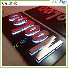 LED backlit channel signs letters,illuminated signs