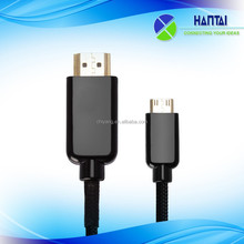 Supply High Definition Multimedia Interface male to usb female audio cable