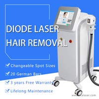 New technology Safe And Fast Treatment alexandrite hair removal machine second hand for salon use