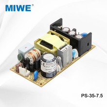 Factory price single output custom open frame power supply 35W 7.5V 4.7A PS-35-7.5