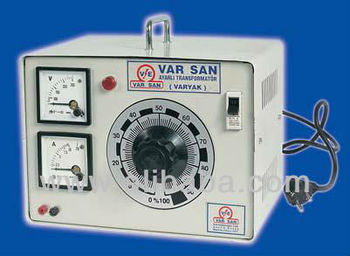 Single Phase Variable Transformer With Case 0,5 KVA to 15 KVA