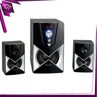 FM Radio Fashion Stereo Sound Subwoofer 2.1 Speaker Sound System