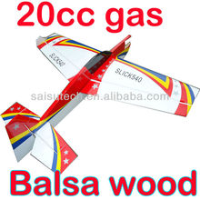 balsa wood rc airplane model airplane engines 20cc toy airplane EDGE540