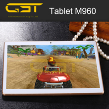 Best selling quad core tablet phablet 1280*800 black White gold colors cheap tablet M960