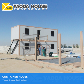 Transportable Price Light Steel Structure 40Ft Feet Foot Container Prefab Houses 40ft Shipping Container House